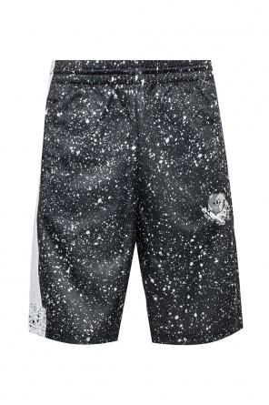 Shorts with a printed logo od ADIDAS Originals