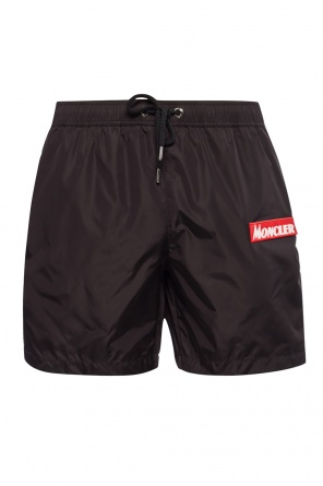 Logo-patched shorts od Moncler