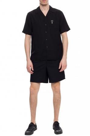 Wool shorts od Ami Alexandre Mattiussi