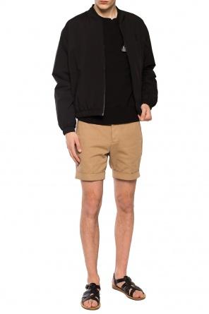 Logo-embroidered shorts od Ami Alexandre Mattiussi