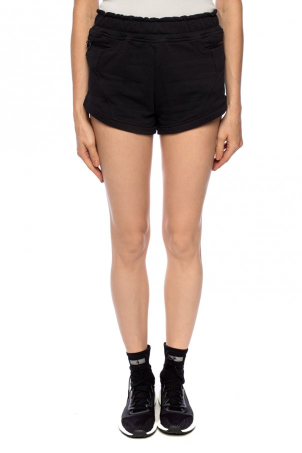 Logo sweat shorts od ADIDAS by Stella McCartney
