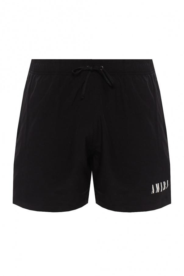 Amiri Swim shorts with logo