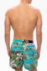 Amiri Printed swim shorts