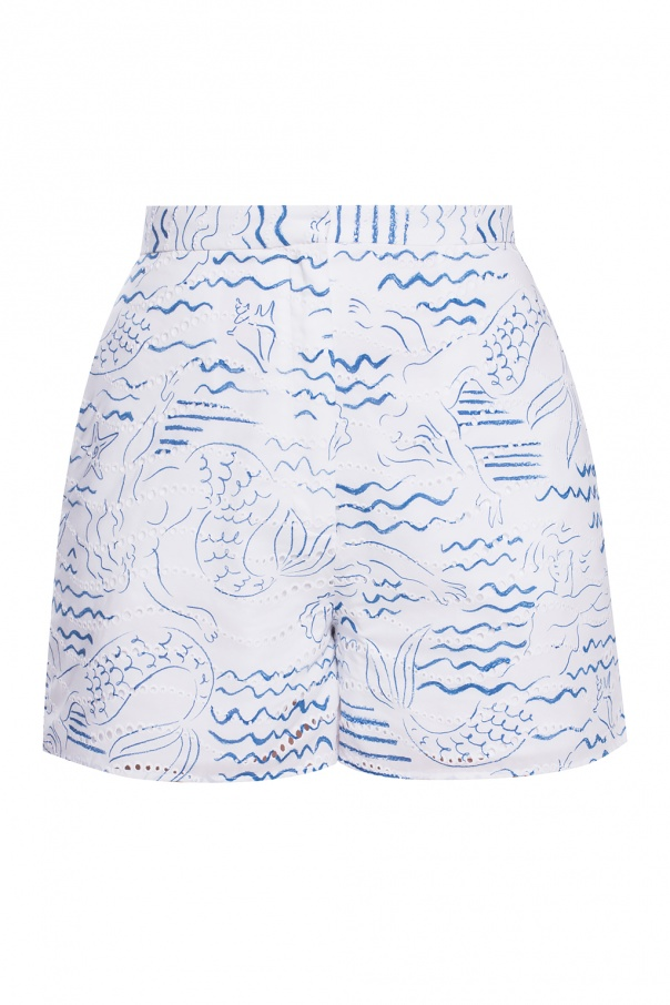 Kenzo High-waisted shorts