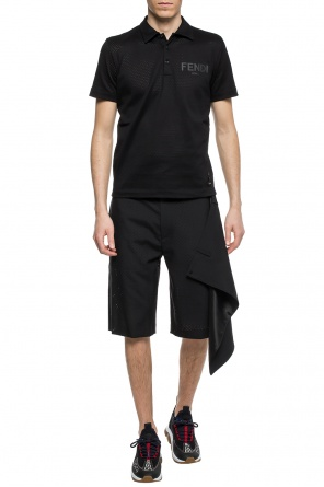 Perforated shorts od Fendi