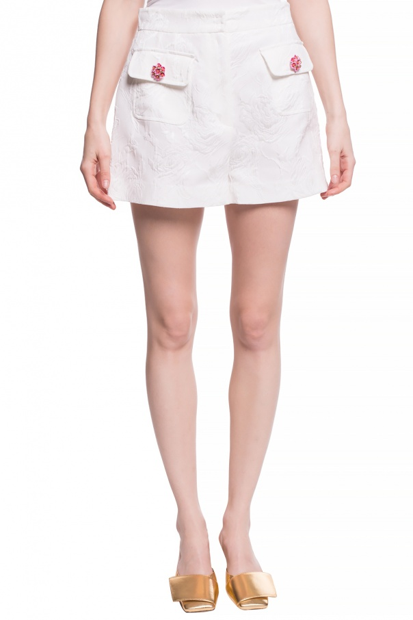 High-waisted shorts od Dolce & Gabbana
