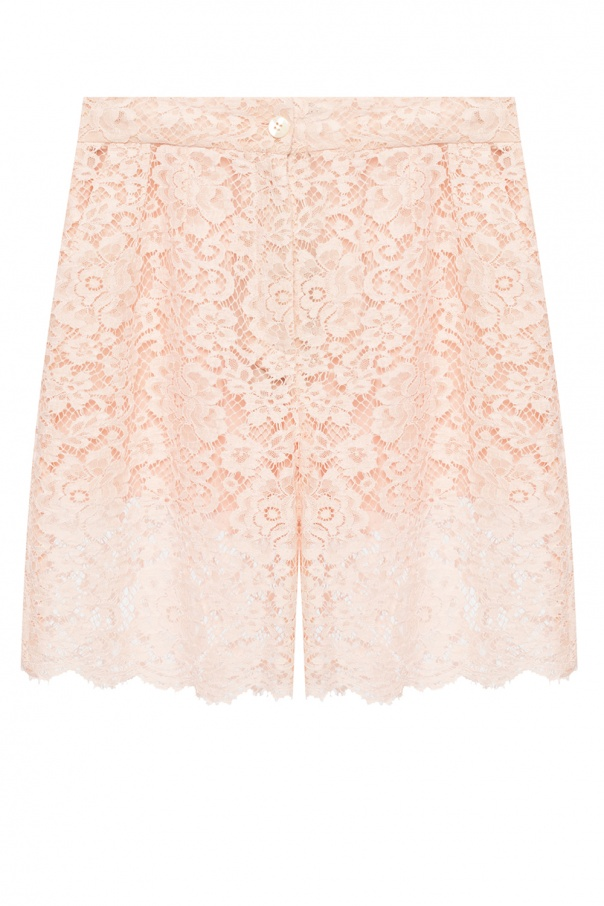 Dolce & Gabbana Openwork shorts