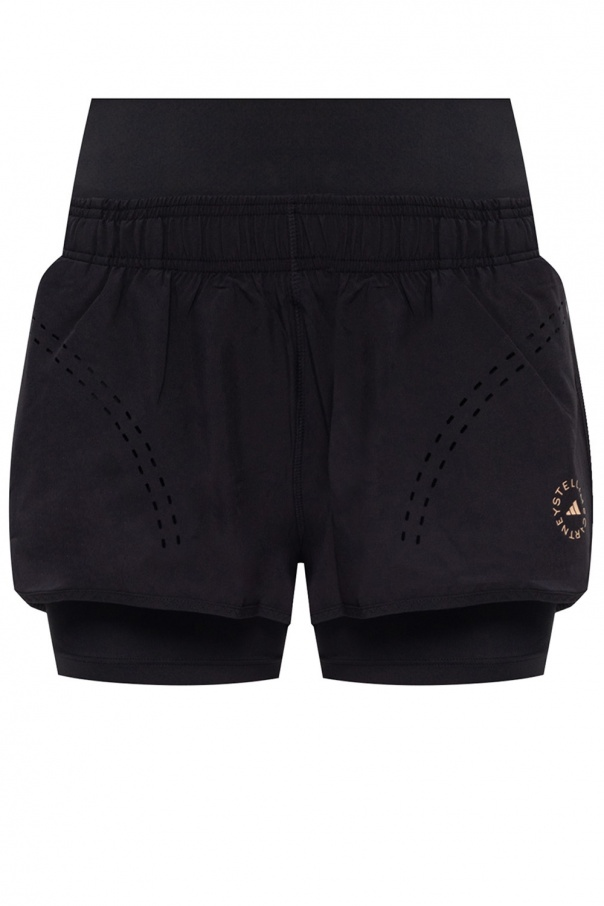 ADIDAS by Stella McCartney Double-layered shorts