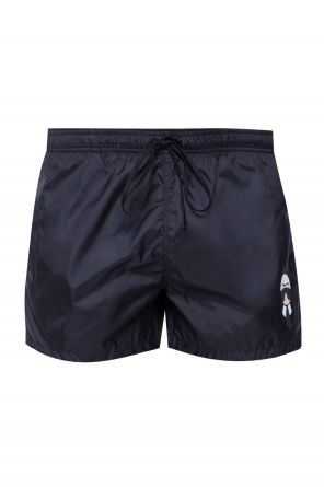 Patched swimming shorts od Fendi