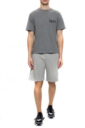 Logo-printed shorts od Golden Goose
