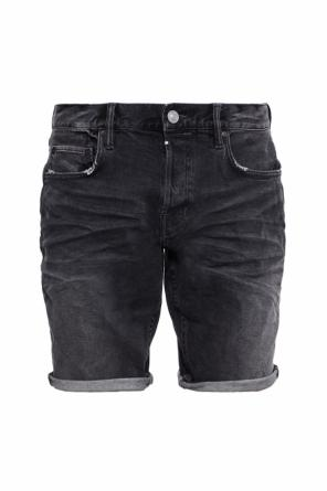 'switch' skinny denim shorts od AllSaints