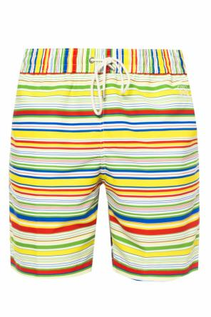 Striped swimming shorts od Loewe