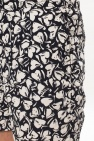 AllSaints 'Heartbreak' patterned swim shorts