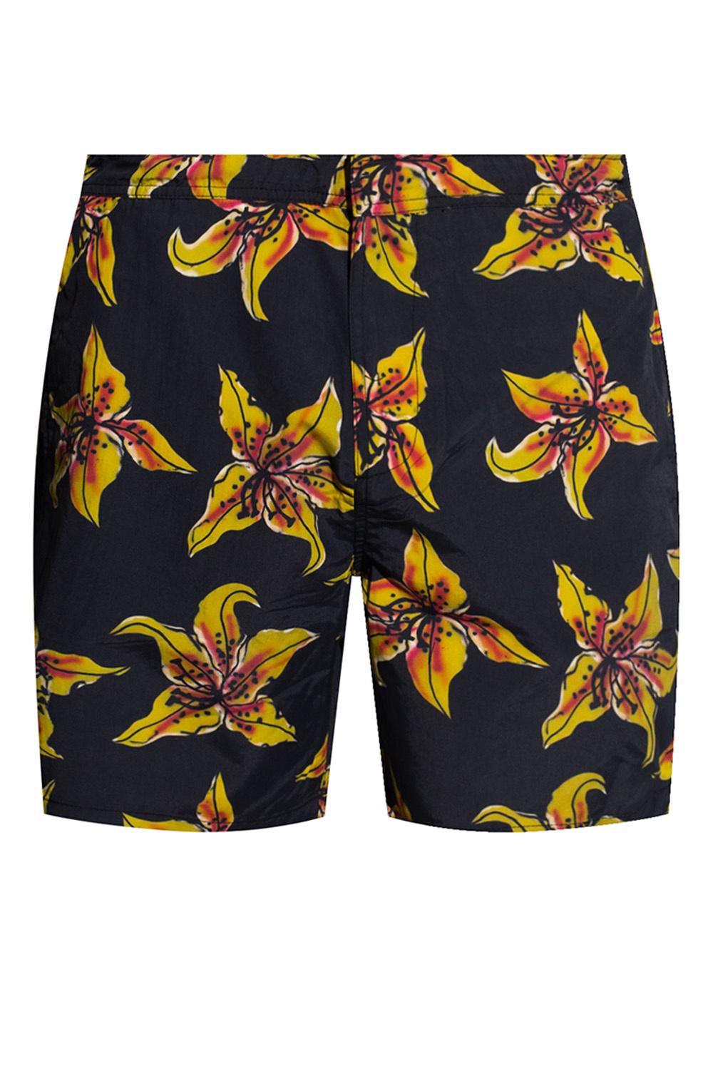 AllSaints 'Hibiscus' swim shorts