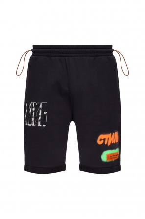 Printed sweat shorts od Heron Preston