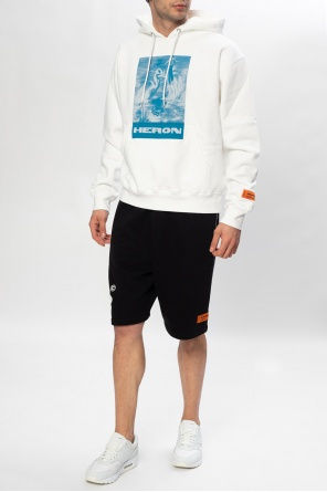 Shorts with logo od Heron Preston
