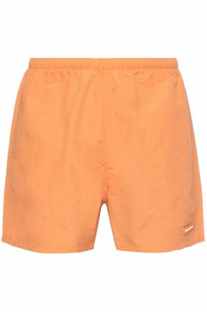 Logo swim shorts od Heron Preston