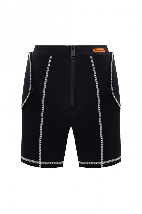Heron Preston Shorts with detachable belt
