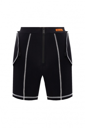 Shorts with detachable belt od Heron Preston