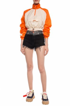 Raw-trimmed shorts od Heron Preston