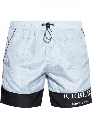 Swim shorts with logo od Iceberg