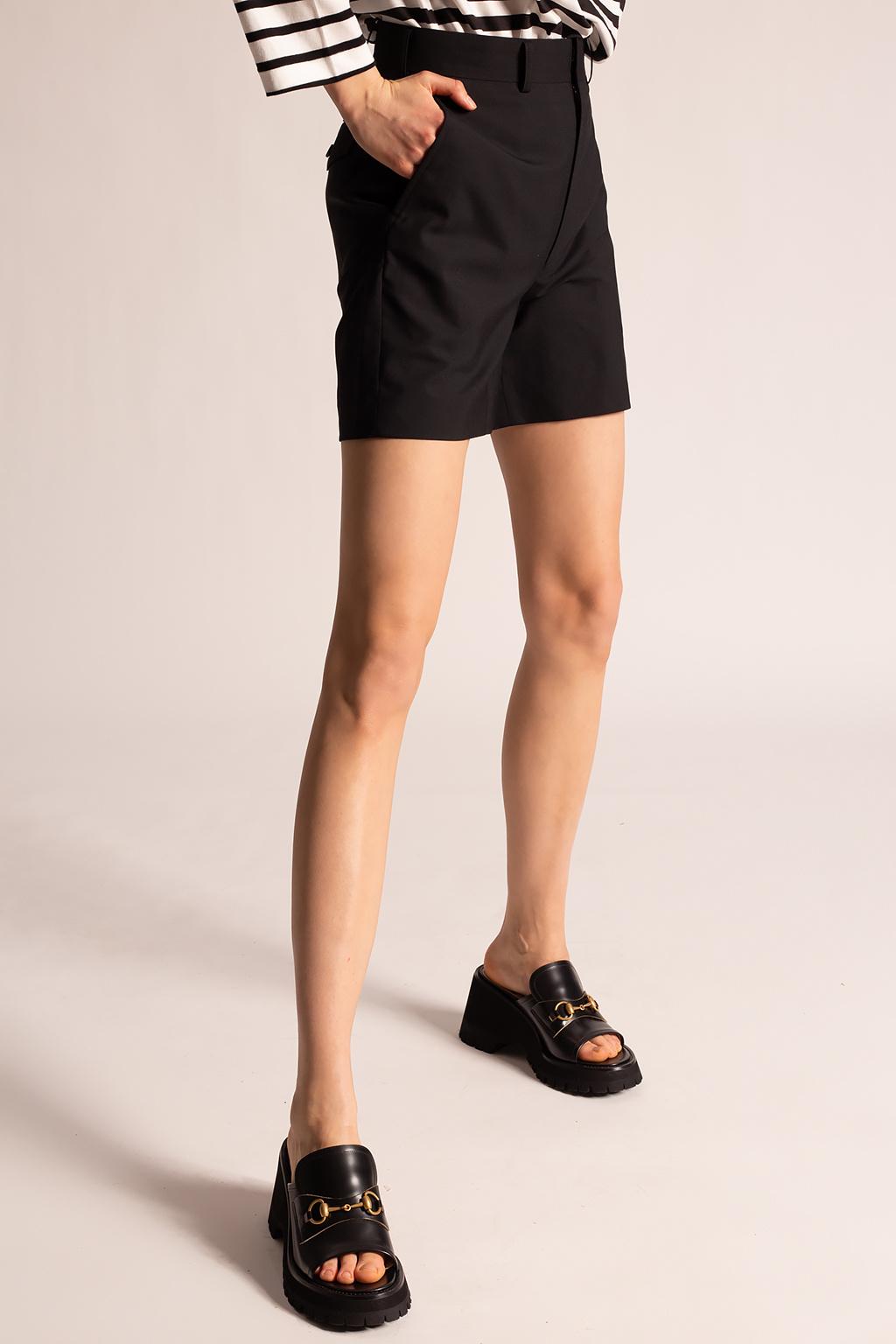 Junya Watanabe Comme des Garcons High-waisted shorts