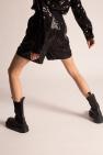 Junya Watanabe Comme des Garcons Szorty z cekinami