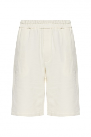 Sweat shorts with logo od JIL SANDER+