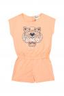 Kenzo Kids Tiger head jumpsuit