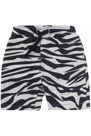 Sweat shorts with logo od Kenzo Kids
