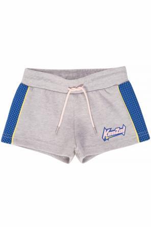 3d205e23bd323 Shorts with stripes od Kenzo Kids Shorts with stripes od Kenzo Kids