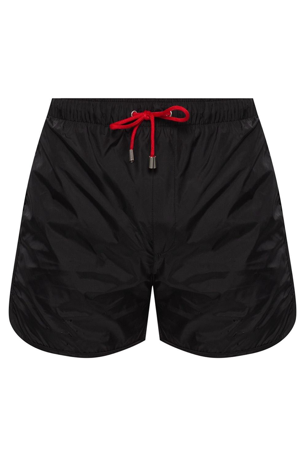 Zadig & Voltaire Appliquéd swim shorts