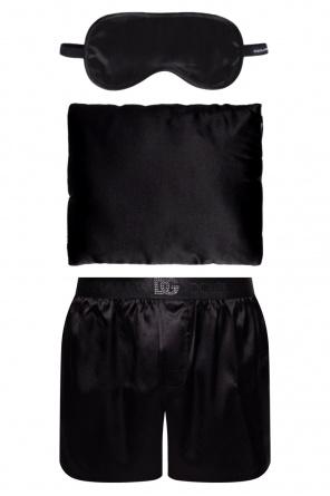 Pillow, blindfold and pyjama bottoms od Dolce & Gabbana