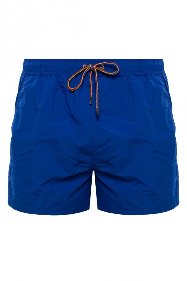 Paul Smith Uni-colored swim shorts