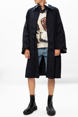 Raw edge denim shorts od Vetements