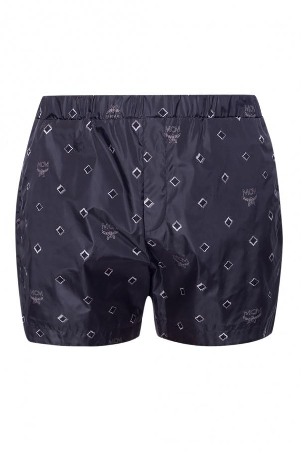 MCM Swim shorts with logo
