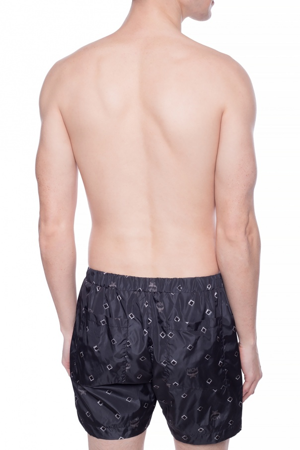 Swim shorts with logo od MCM
