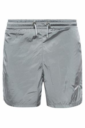 Logo-embroidered track shorts od MISBHV