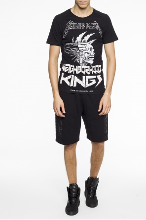 Shorts with inserts od Philipp Plein