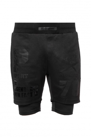 Jogging shorts with logo od Plein Sport