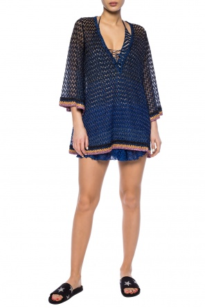 Sheer shorts with logo od Missoni