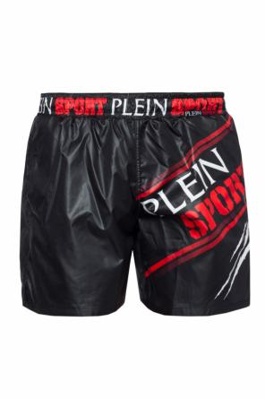 Printed swimming shorts od Plein Sport