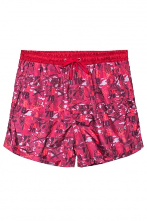 Tiger head swimming shorts od Plein Sport