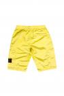 Stone Island Kids Shorts with logo