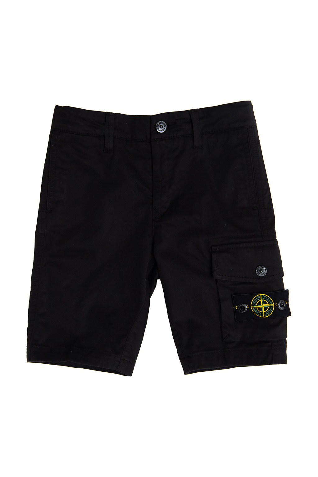 Stone Island Kids 棉质短裤
