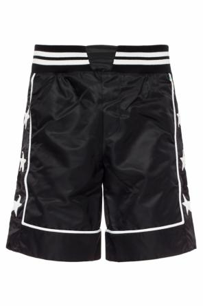 Star-patched shorts od Philipp Plein