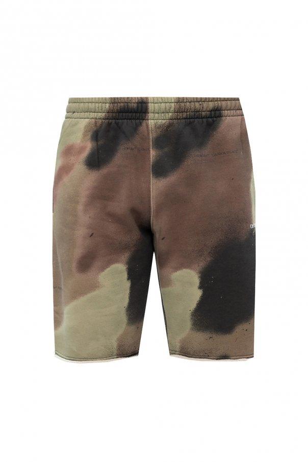 Off-White Logo sweat shorts