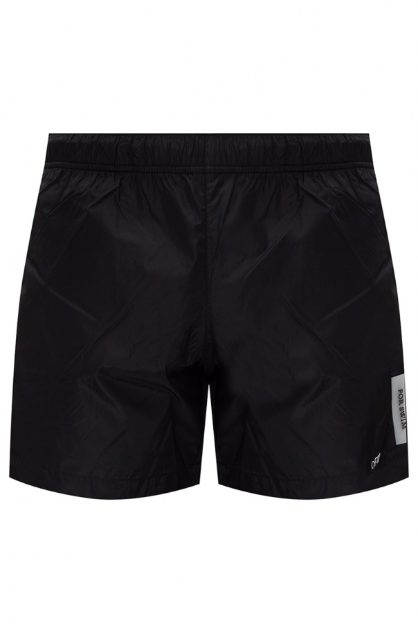 Off-White Swim shorts with logo