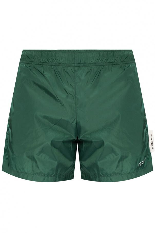 Off-White Swim shorts with logo