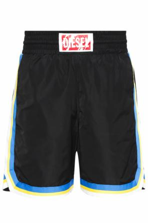Shorts with stitching details od Diesel